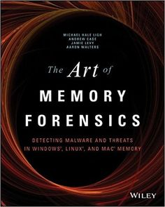 Hacking Books: The Art of Memory Forensics: Detecting Malware and Threats in Windows, Linux, and Mac Memory: Michael Hale Ligh, Andrew Case, Jamie Levy, AAron Walters