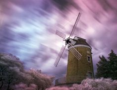 Old Dutch Windmill IR by Uncle Phooey, via Flickr