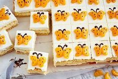 Mandarin butterfly cuts- Mandarinen-Schmetterlingsschnitten Our popular recipe for tangerine butterfly cuts and over other free recipes LECKER. Cake Recipes, Dessert Recipes, Drink Recipes, Cut Recipe, Baby Shower Desserts, Food Humor, Popular Recipes, Kids Meals, Cake Decorating