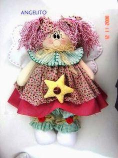 Mimin Dolls: fada e anjo pattern