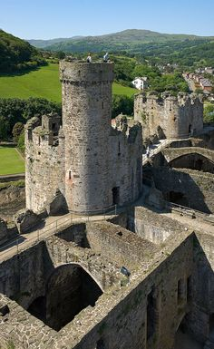 Conwy Castle, Wales, UK