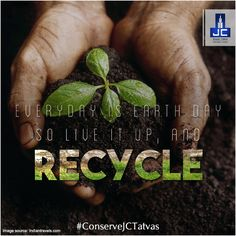 The Earth has always been synonymous with the power to create & sustain life. So #ConserveJCTatva & continue to make the lives of everyone around Happy & Healthy.