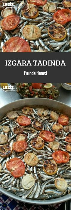 Grilled Baked Anchovies – My Delicious Food, # Delicious Informations About Gegrillte gebackene Sardellen – mein Grilling Recipes, Meat Recipes, Dinner Recipes, Shellfish Recipes, Seafood Recipes, Turkish Recipes, Ethnic Recipes, Seafood Bisque, Good Food