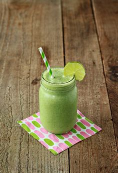 ½ cup vanilla yogurt 1 cup spinach leaves, packed 2 teaspoons honey ½ banana, best frozen 2 tablespoons fresh lime juice (About 1 medium lime, depending on juiciness) ½ teaspoon vanilla extract ½ cup milk ½ – 1 cup ice (optional)