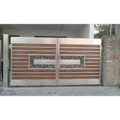 Shiv Shanker Engineering Works - offering Stainless Steel Main Gate, Material Grade: SS 304 at Rs in Ludhiana, Punjab. Home Gate Design, Grill Gate Design, House Main Gates Design, Steel Gate Design, Front Gate Design, Window Grill Design, Door Design, House Design, Wooden Gate Designs