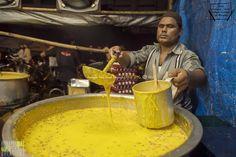 Malpua being readied at Shalimar Restaurant, Bhendi Bazaar, Mumbai, Maharashtra - India | by Humayunn Niaz Ahmed Peerzaada