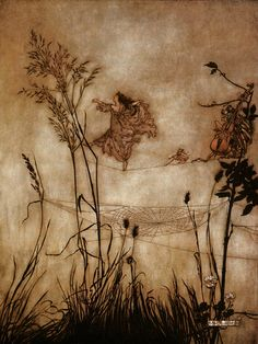 "Arthur Rackham, Peter Pan - ""The fairies are exquisite dancers..."""