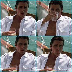 Christian Bale, the one and only Bruce Wayne exists😘 Batman Christian Bale, Christian Bale Hot, Chris Bale, Most Handsome Actors, The Dark Knight Trilogy, American Psycho, Good Looking Men, Perfect Man, Celebrity Crush