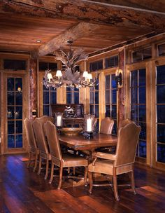 Dining room for the mountain home?