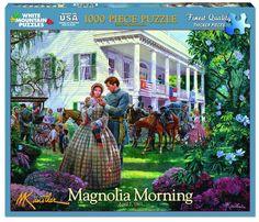 MAGNOLIA MORNING - 1000 Piece Jigsaw Puzzle