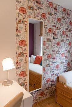 www.ynox.pl Divider, Interior Design, Bed, Room, Furniture, Home Decor, Nest Design, Bedroom, Decoration Home