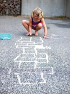 competitive hopscotch is no laughing matter