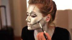 Halloween Makeup Tutorial: Robot