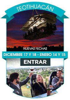 Dinner in the Sky Mexico - Una Experiencia gastronómica a 45 metros de altura - Teotihuacán - Guanajuato - Deja la Rutina en Tierra.