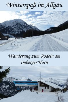 Bad Hindelang: Rodeln am Imberger Horn Snow, Water, Outdoor, Hill Walking, Skiing, Mountains, Travel Destinations, Gripe Water, Outdoors