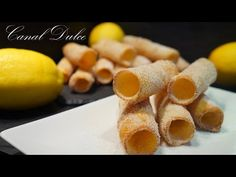 YouTube Kinds Of Cookies, Cookies And Cream, Kitchen Reviews, How To Make Crepe, Plum Cake, Cannoli, Egg Recipes, Sin Gluten, Gastronomia