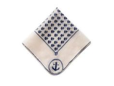 Anchors Away! The Perfect Pocket Square.