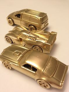 Gold Hot Wheels