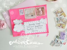 May is pink - Pink mood papers / Bohème Circus :: ::: :: e-shop