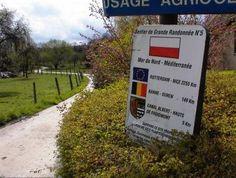 GR5-bord nabij Haccourt