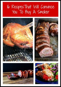 Summer is almost over but who says smoking is only for summer? I've got 16 recipes that will make you want to buy a smoker so you can smoke all year round!
