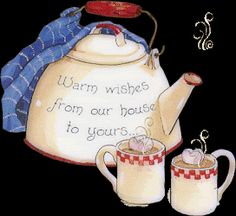 Good Morning, Good Afternoon and Good Evening. Tea Quotes, Coffee Quotes, Coffee Gif, Coffee Humor, Good Afternoon, Good Morning, Morning Coffee, Cuppa Tea, Teapots And Cups