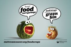 he city of Vancouver has decided to take action against waste by making it illegal to throw away food scraps Green Bin, Solid Waste, No Waste, City North, Recycling Programs, Try Something New, Vancouver, North America, Scrap