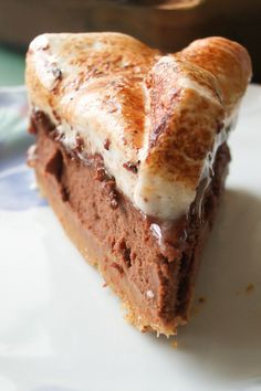 S'mores Cheesecake by raspberri cupcakes, via Flickr