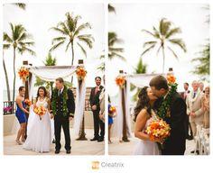 Hawaii Wedding Photography | www.creatrixphotography.com | Creatrix Photography | Hale Koa Hotel