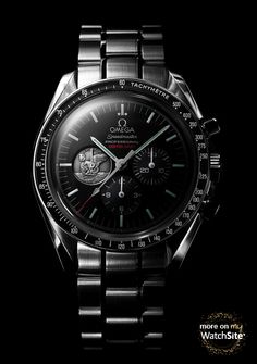 """Omega Watch Speedmaster Professional Moonwatch Apollo 11 """"40th Anniversary"""" LImited Edition made of for Men - Collection Speedmaster Reference : 311.30.42.30.01.002"""