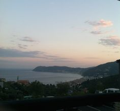 View from our restaurant