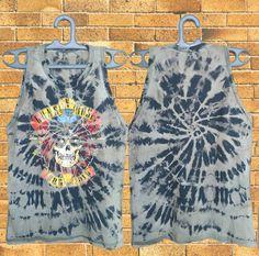 Guns n Roses Tank top Bleached  Guns n Roses  by DesignerPride