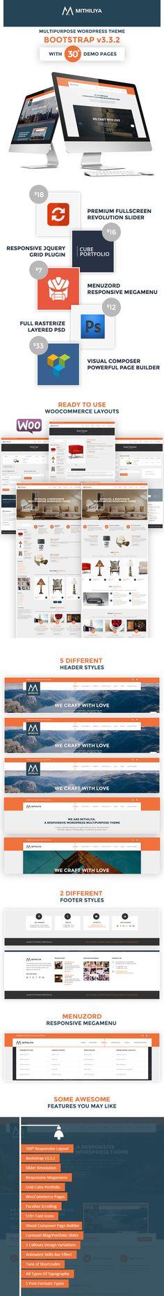 Mithiliya – Responsive Business WordPress Theme