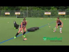 The Tire Drill │ Field Hockey Training with Amy Cohen - YouTube