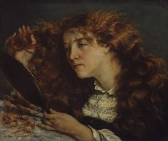 Gustave Courbet - Jo, La Belle Irlandaise   See the best #Art installations in New York at www.artexperience...
