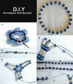 FREE Pattern - Herringbone Twist Bracelet Featured in Bead-Patterns.com Newsletter today. Check it out for detailed step by step tutorial by ROBYN and for more featured FREE Patterns/Tutorials available!