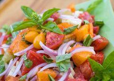 Tomato and Red Onion Salad #memorialday #recipe
