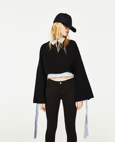 Image 3 of LOW-RISE BODY CURVE JEGGINGS from Zara