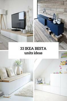 33 Ways To Use IKEA Besta Units In Home D??cor