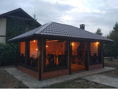 Outside Living, Outdoor Living, Outdoor Areas, Outdoor Structures, Gazebo, Pergola, Barn Shop, Summer Kitchen, Modern House Design