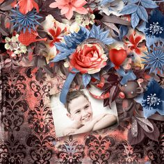 """Jardin d'hiver"" by Kasta Gnette Designs Photo Pliscrap Designs http://digital-crea.fr/shop/…"