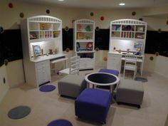 escritorios y mini sala!