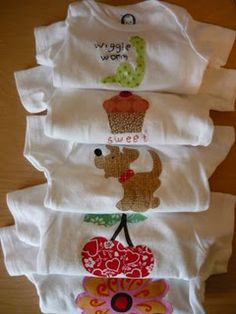 How to do applique onesies
