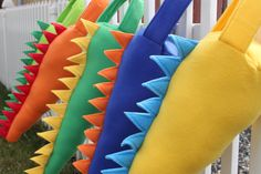 Dinosaur Dragon Tail Birthday Costume Halloween outfit Gift idea Party Favor