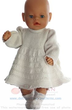 A gorgeous celebration dress for your doll