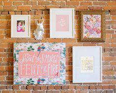 Art for Girl's Room - Sweet As S'mores Canvas from Lindsay Letters
