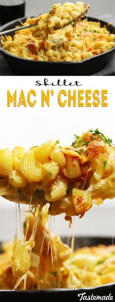 Effortless, one-pan mac and cheese is ridiculously delicious.