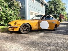 240z Datsun, Nissan, Japanese Sports Cars, Turning Japanese, Mustard, The Incredibles, Beautiful, Style, Cars