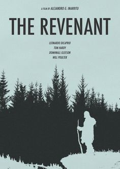Alternative poster design of The Revenant.