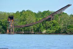 Abandoned Conveyor to Nowhere in Delanco, NJ.